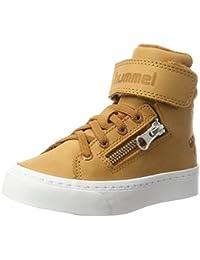 Hummel Unisex-Kinder Stadil Zip Oiled Jr Hohe Sneaker