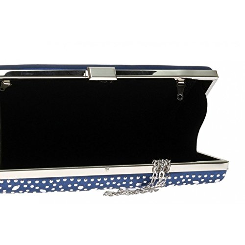 Craze London , Pochette pour femme D Blue