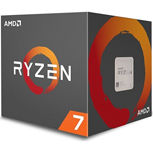 Foto AMD Ryzen 7 YD170XBCAEWOF Processore1700x 3.4GHz (AMD Ryzen 7, 3.4 GHz, Socket AM4, PC, 1700x, 32-bit, 64-bit)