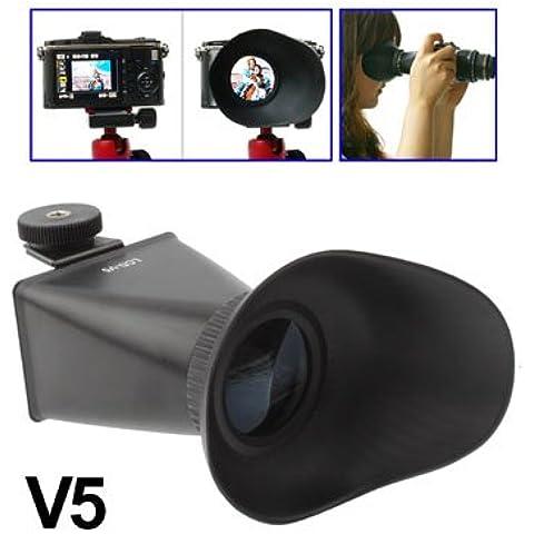 2,8 x 3 pollici lcd 04:03 ingrandimento extender cappuccio oculare del mirino per Nikon J1 / V1 (v5)