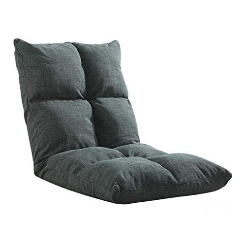 Willsego lettino regolabile per lettino da gioco pieghevole lazy lounge lettino per lettino piccolo (giallo, caffè, blu) (colore: giallo) (colore : blue-gray, dimensione : -)