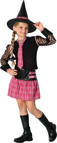 Drama Queen Ex-spelled Child Costume - Large (12-14) by Morris Costumes