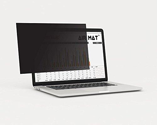 33cm MacBook Air Computer Sichtschutz Privacy Filter für Laptop, Notebook, LCD-Monitor, indem Airmat, Best Displayschutzfolie Film für Daten Vertraulichkeit–vergleichen bis 3m (MacAir 33cm)