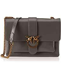 fd9b143dc33 Pinko Women s Big Love Vintage Vitello Vintage Shoulder Bag