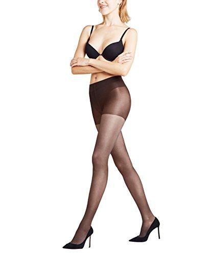 FALKE Damen Strumpfhosen Leg Energizer Invisible 15 den - 1 Paar, Gr. M, grau, matt transparent, Kompression Durchblutung -