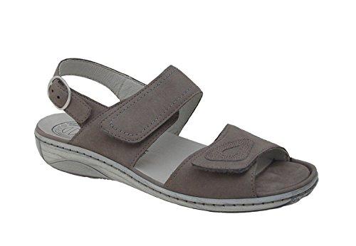 Waldläufer Ladies Sandal Garda 210007-633-088 gris grau