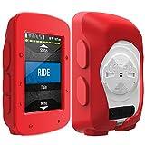 TUSITA cas pour Garmin Edge 520 Plus - Housse de protection en silicone - Ordinateur...