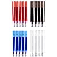Homyl 40 Stück Hohe Temperatur Verschwinden Stift Markierstift Stift Trickmarker Wärme Löschen Stifte Nähen Werkzeuge