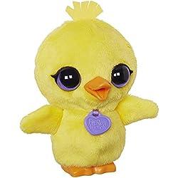 Hasbro B4986 - FurReal Friends - Luvimals - Chick - peluche interactivo con efectos de sonido