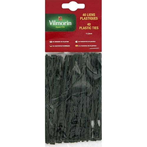 Vilmorin - Lien plastique - 35cm - sachet de 20 liens