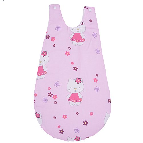 Gigoteuse hiver - sac de couchage 74 Cm - 100% Coton BIO Collection Kitty Rose (Gemütliche Bunting)