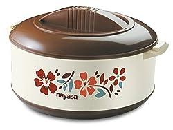 Nayasa Thermoware casserole - Chef - 1500 dark brown