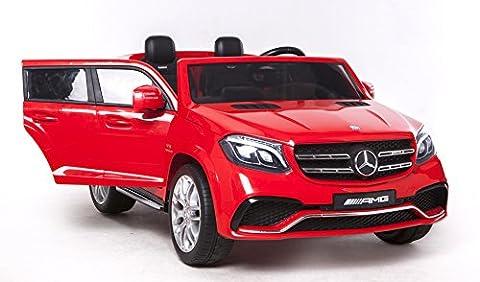 Mercedes - Benz GLS 63 Rouge - 2.4Ghz, Véhicule électrique,
