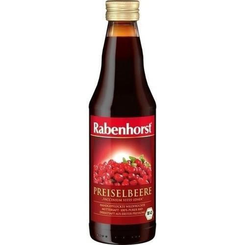 Rabenhorst Succo Di Mirtillo Rosso Puro 100% Biologico 330ml