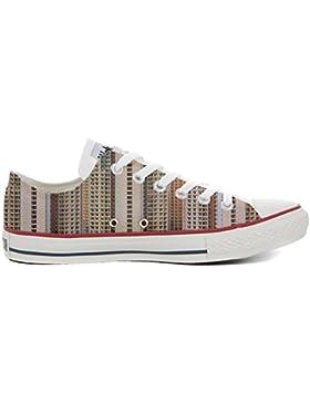 Converse All Star Slim, scarpe Personalizzate (scarpe artigianali) Architecture Of Density