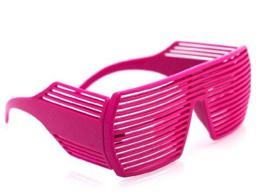 Super Partybrille von Oramics - Neuester Atzen-Style - Die Brille des Jahres 2014! - Pink