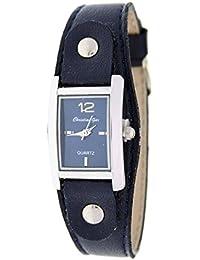 Reloj analógico de señora Christian Gar Mod.Denia 7251- Color Azul
