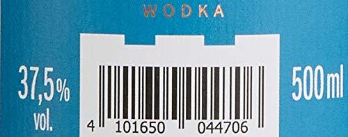 Burgen Wodka handcrafted 94 fach destilliert (1 x 0.5 l)