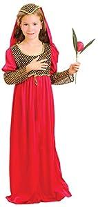 Bristol Novelty Traje de Julieta Mediano  Edad Aprox 5-7 años