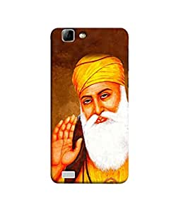 PrintVisa Designer Back Case Cover for Vivo V1 (Guru Nanak Golden Temple Satnam Sri Waheguru Gurudwara )