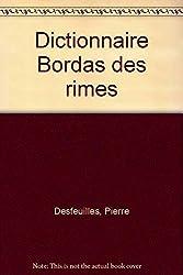 DESFEUILLES/DICT.RIMES    (Ancienne Edition)