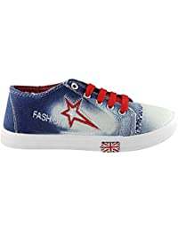 Sapatos Blue & Red Casual Shoes