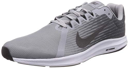 best sneakers d5ad6 921ca Nike Downshifter 8, Chaussures de Running Homme, Gris (Wolf Metallic Dark  Cool Grey
