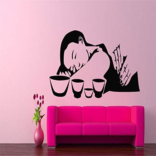 Cmhai Klassische Porträt Joker Und Harley Quinn Vinyl Wandaufkleber, Kreative Anime Comics Aufkleber Kunst Aufkleber Auto Laptop Wandbild Decor56 * 56 Cm