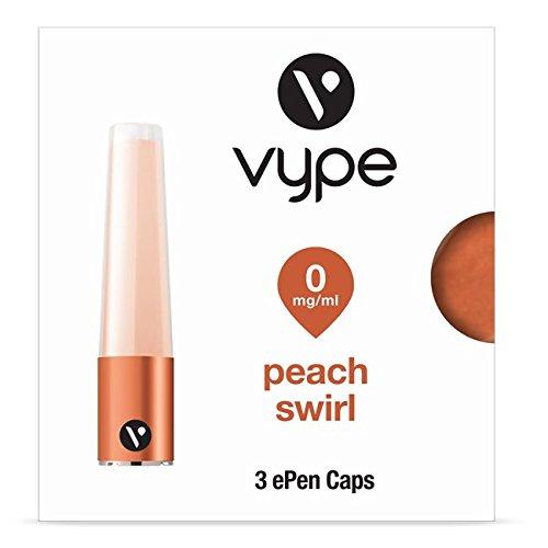 Vype ePen Caps Peach Swirl 3er Pack | e-Liquid | ohne Nikotin