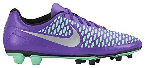 Nike Magista Ola Fg, Chaussures de Football Compétition Homme Violet (Hyper Grape/Purple Dynasty/Green Glow/Metallic Silver)