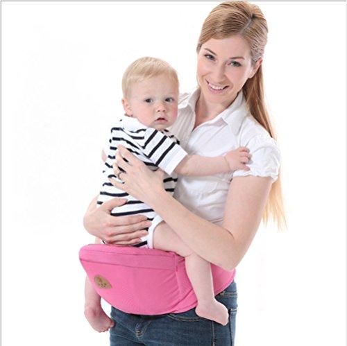 Homesave Baby-Träger-Kleinkind-Taillen-Schemel-Gurt-Vordere Träger-Kleinkind-Hüften-Sitz-Fördermaschine, Breathable,Pink