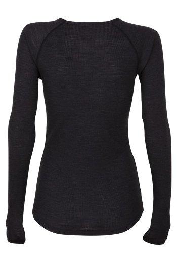 Super.natural t-shirt pour femme sport warm up Noir - Caviar