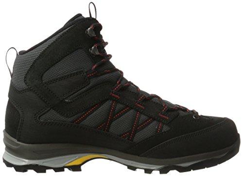 Hanwag Belorado Mid Gtx, Chaussures D'escalade Basses Pour Hommes Noires (schwarz Black)