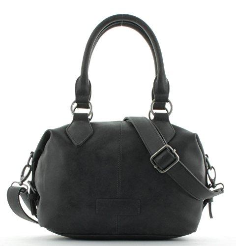 Fritzi aus Preußen - Bolso estilo bolera para mujer, Vintage - Black
