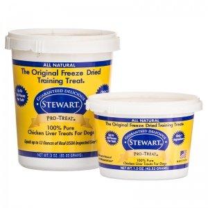Stewart Pro-Treat Freeze Dried Chicken Liver 1.5 oz.