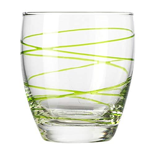 montana :swirl Trinkbecher grün, 6-er Set, 330ml, Höhe 9,5cm, spülmaschinengeeignet, 037197