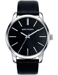 Mark Maddox HC0001-57 - Reloj de cuarzo para hombre, correa de poliuretano color negro