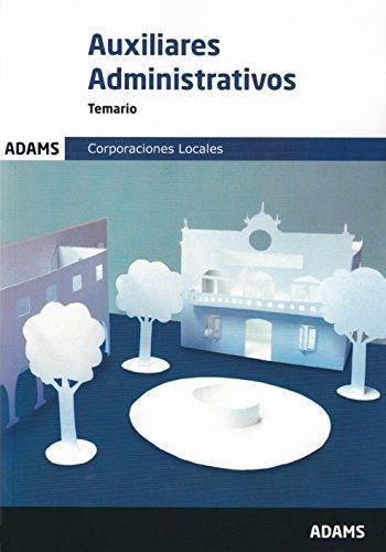 Temario Auxiliares Administrativos de las Corporaciones Locales
