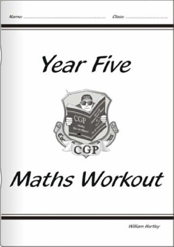 KS2 Maths Workout Book - Year 5 by CGP Books (2001) Paperback