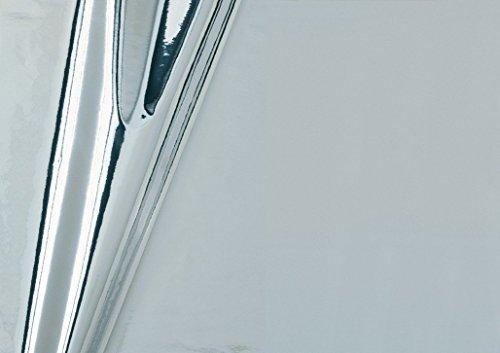 "d-c-fix Klebefolie, Selbstklebefolie Metallic F347-0003 ""Hochglanz Silber"" 150 x 45cm"