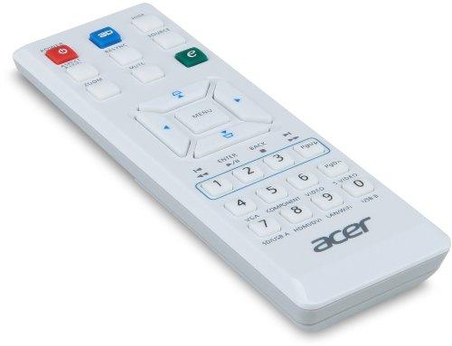 Acer H6510BD 3D Full HD DLP-Projektor (3D-fähig über HDMI 1.4a, Kontrast 10.000:1, 3.000 ANSI Lumen, Full HD 1920 x 1080 Pixel) weiß - 6