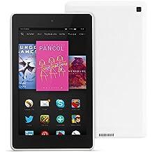 """Fire HD 6, écran HD 6"""" (15,2 cm), Wi-Fi, 8 Go (Blanc) - avec offres spéciales"""