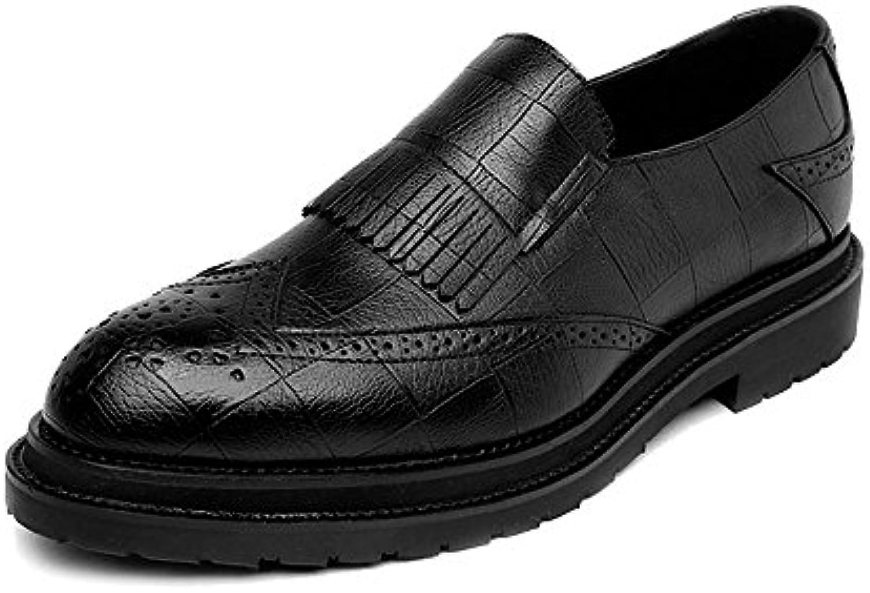Hongjun-scarpe Scarpe Uomo 2018, Scarpe da Uomo in in in Pelle PU Classic Slip-on Nappa Decorazione Business Traspirante... | Qualità E Quantità Assicurata  76ea51