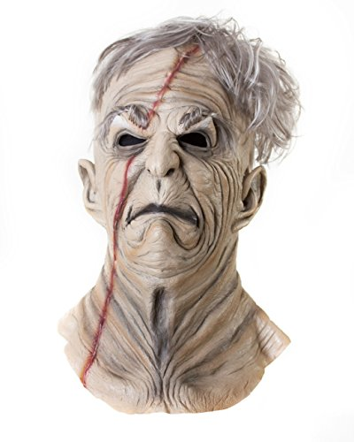 Halloween Maske Sinister. Die Horror-Maske aus Latex. Monster Grusel Spaß in Deluxe (Monster Masken)