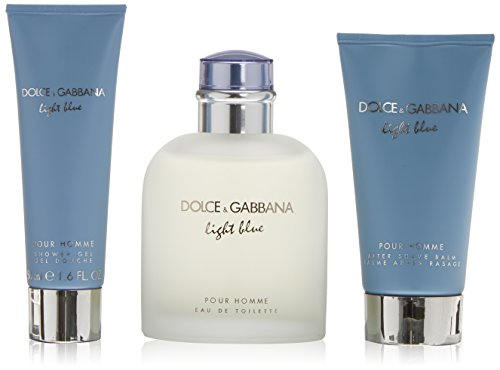 Dolce & Gabbana Light Blue pour Homme EDT 125 ml + ASB 75 ml + SG 50 ml (man) -