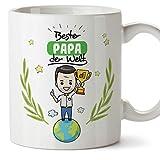 Papa Tasse/Becher/Mug Geschenk Schöne and lustige kaffetasse - Bester Papa der Welt - Keramik 350 ml