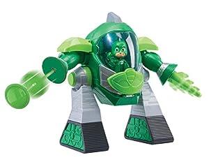 PJ Masks- Robot Turbo Movers Geko, buhita, Color Verde (Bandai JP95508)