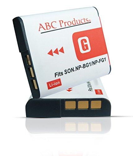 ABC Products Sostituzione Batteria Ricaricabile NP-BG1 / NP-FG1 / G Type Info Li-ion per Sony Cybershot fotocamera digitale / Handycam Videocamera (modelli indicati di seguito)