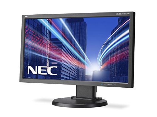 NEC MultiSync E233WM 23-Inch Monitor (Black) - (1000:1, 16:9, 250cd/m, 1920 x 1080, 5ms, DisplayPort/DVI-D)