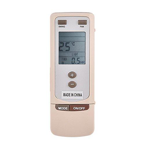 Richer-R Universale Klimaanlage Fernbedienung, ABS Ersatz Fernbedienung,Verschleißfest Remote Control Klimaanlagen für Gree Y512 Y502 Klimaanlage Weiß